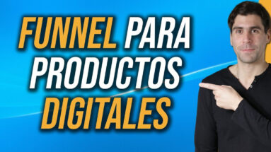 funnel para productos digitales